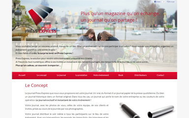 vignette projet press express